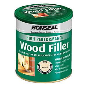 Ronseal High Performance Wood Filler - Natural 1kg