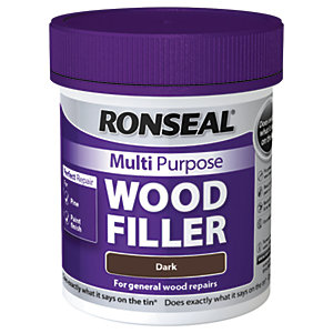 Ronseal Multi Purpose Wood Filler - Dark 250g