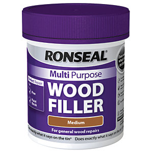 Ronseal Multi Purpose Wood Filler - Medium 250g