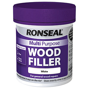 Ronseal Multi Purpose Wood Filler - White 250g