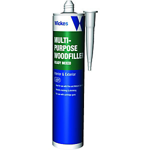 Wickes Multi-Purpose Wood Filler - Light 310ml
