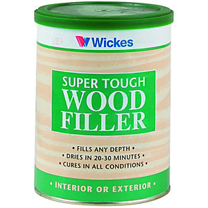 Wickes Super Tough Wood Filler - Natural 1kg