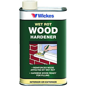 Wickes Wet Rot Wood Hardener - 500ml