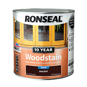 Ronseal 10 Year Woodstain - Walnut 2.5L