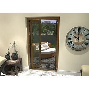 Rohden Pattern 10 Fully Finished Oak French Doors - 4ft