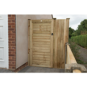 Wickes Pressure Treated Overlap Timber Gate - 1.8m