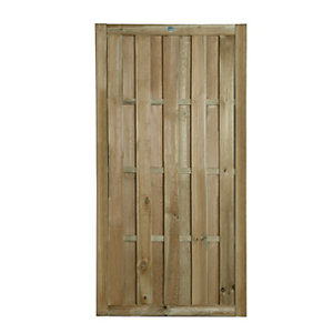 Wickes Vertical Hit & Miss Gate - 914 x 1815mm