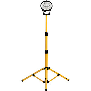 Defender Single Head Halogen Work Light with Stand - 230W
