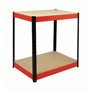 Rb Boss Workbench 2 Wood Shelves - 900 x 900 x 600mm 800kg Udl