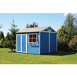 Shire 12 x 12 ft Mammoth Double Door Workshop