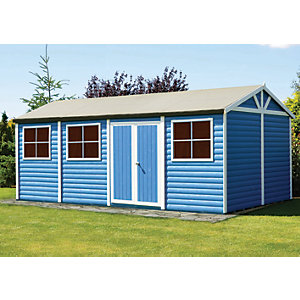 Shire Mammoth Double Door Workshop - 10 x 20 ft