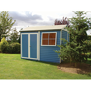 Shire Mammoth Double Door Workshop - 10 x 7 ft