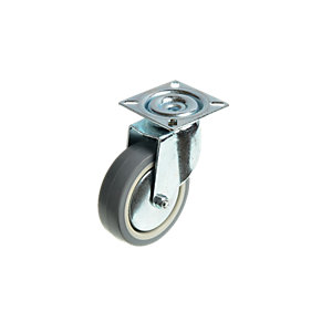 Wickes Heavy Duty Castor Wheel Swivel Plate - 75mm Pack of 2