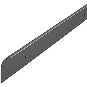 Wickes Worktop End Cap Trim - Black 38mm