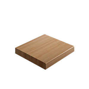Wickes Laminate Upstand - Noisetier 70 x 12mm x 3m