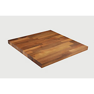 Wickes Solid Wood Upstand - Walnut 70 x 18mm x 3m