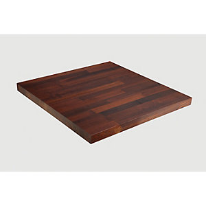 Wickes Solid Wood Worktop Upstand - Thermo Ash 70 x 18mm x 3m