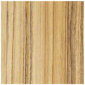 Wickes Wood Effect Laminate Upstand - Coco Bolo 70 x 12mm x 3m