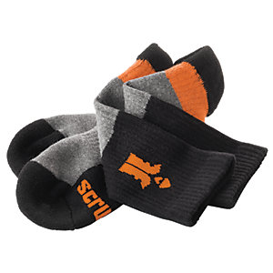 Scruffs Trade Socks - Pack of 3