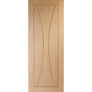 XL Joinery Verona Oak Patterned Internal Fire Door - 1981mm