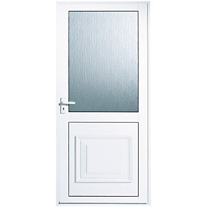Wickes Tyne Aluminium Glazed Back Door 1981 x 762mm Right Hand Hung