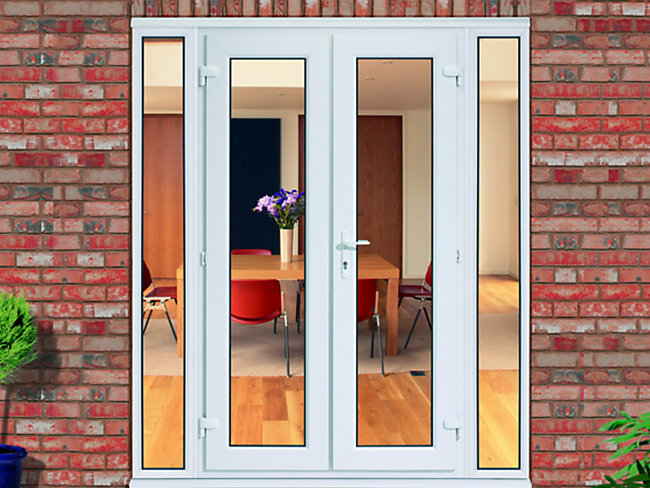 how to fix uneven french doors