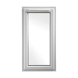 Wickes White uPVC Casement Window - Left Side Hung 610 x 1160mm
