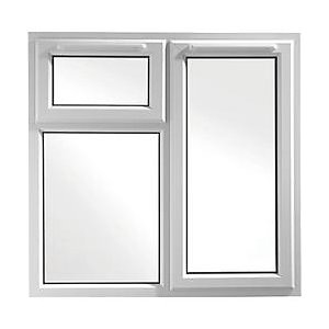 Wickes White uPVC Casement Window - Right Side Hung & Top Hung 1190 x 1160mm