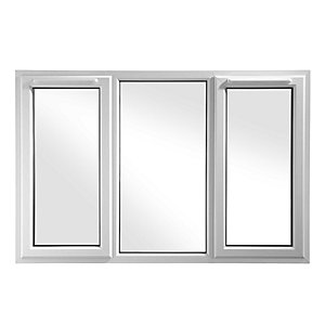 Wickes White uPVC Casement Window - Side Hung 1770 x 1160mm