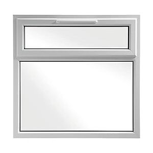 Wickes White uPVC Casement Window - Top Hung 1190 x 1160mm