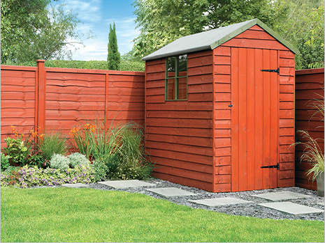 Protect your shed & fence