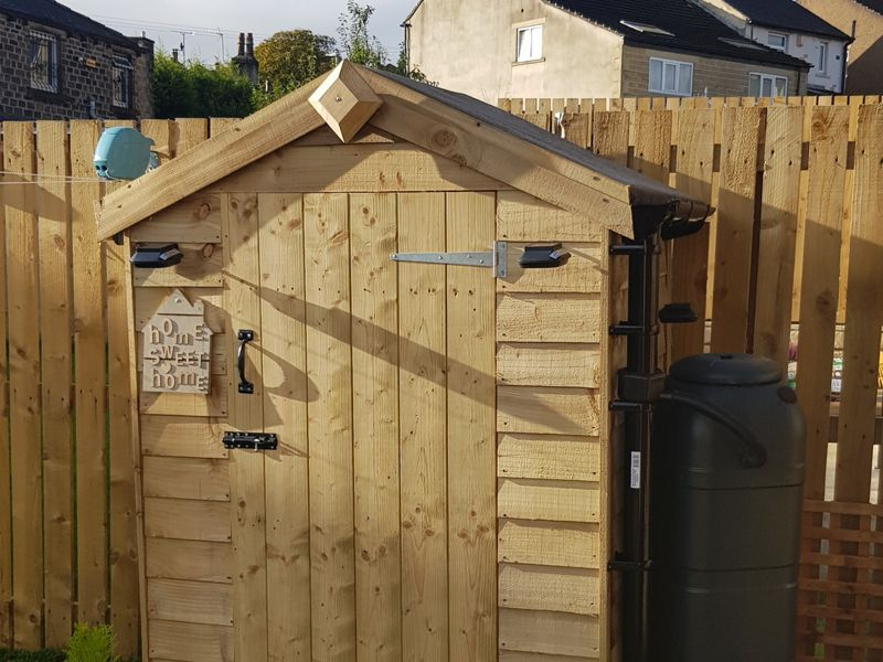 Rowlinson 4 X 3 Ft Overlap Shed