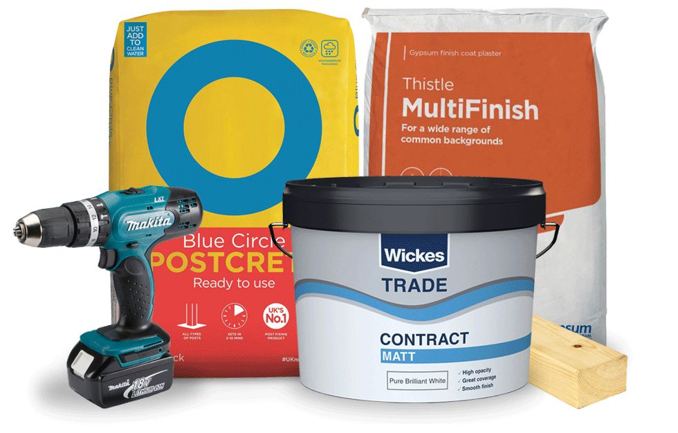 Wickes TradePro products
