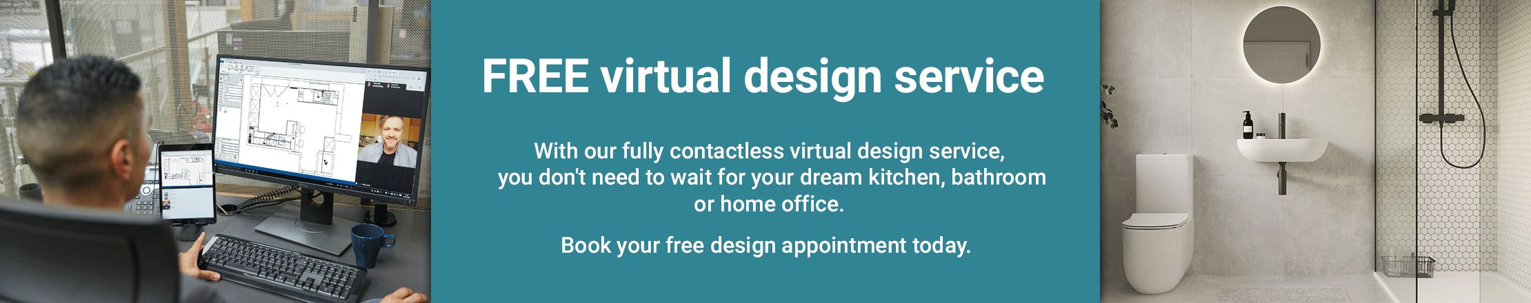Choose an online or in store design appointment