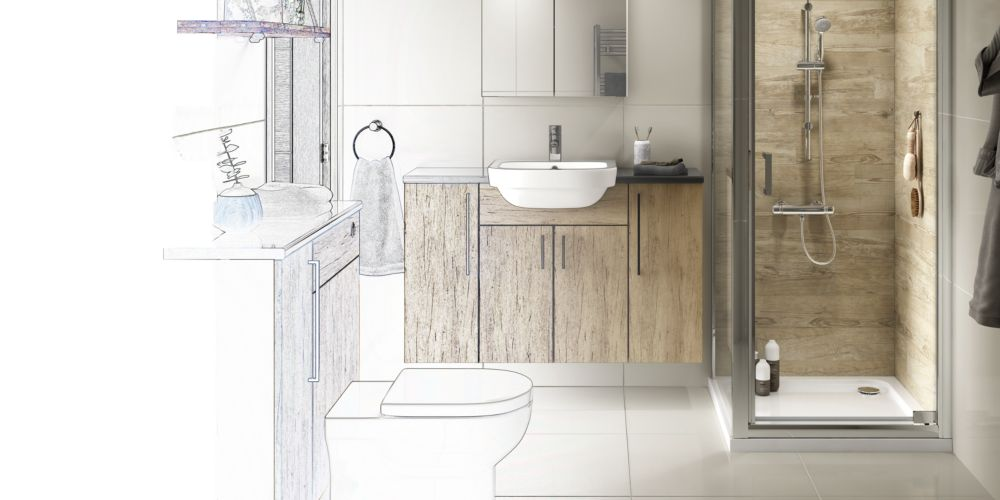 3 steps to your new bathroom